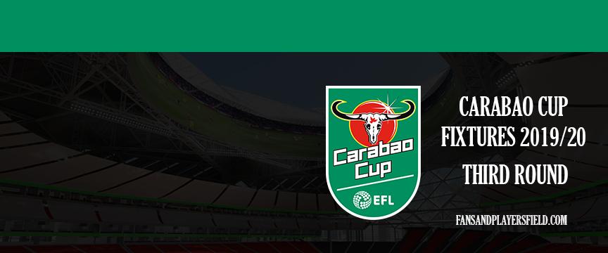 carabao cup fixtures 2019/20