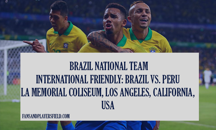 Peru vs Brazil live streaming, preview, prediction & odds.