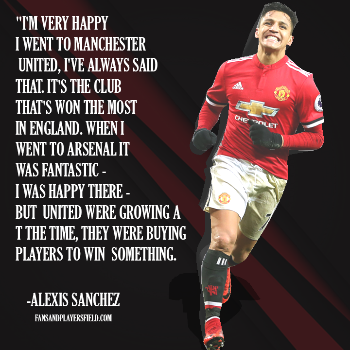 Alexis Sanchez on Leaving United