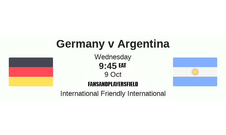 Germany vs Argentina Preview: Live Stream, Kick Off Time & Team News