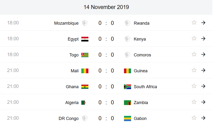 AFCON qualifier preview, prediction & odds