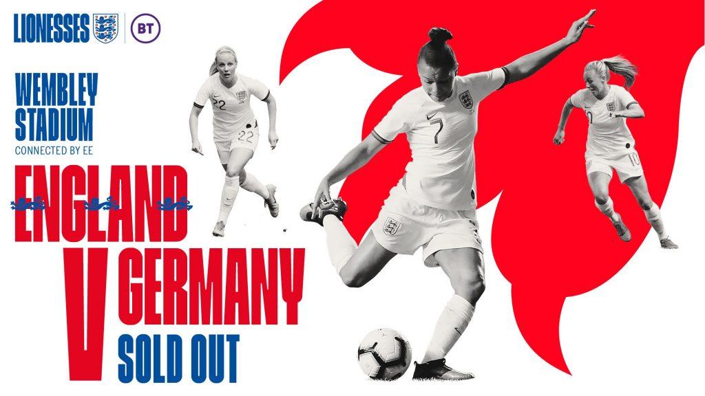 England v Germany international friendly